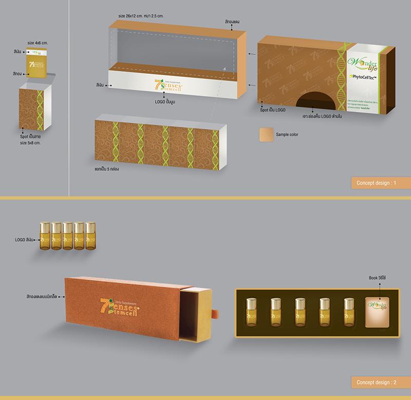 Packaging 7 Senses Stemcell