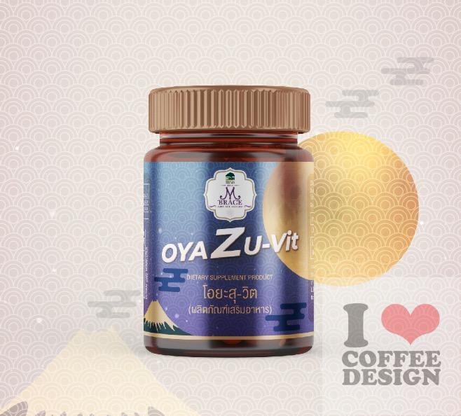 OYAZU-Vit Packaging Design